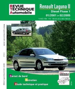 Revue Technique Renault Laguna II phase 1 dCi