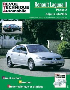 Revue Technique Renault Laguna II phase 2