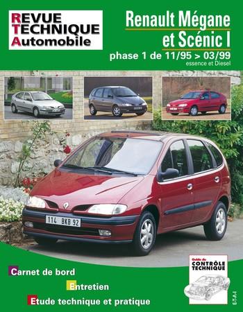 Revue Technique Renault Mégane I ph. 1 et Scénic I ph. 1