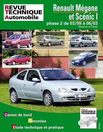 Revue Technique Renault Mégane I ph. 2 et Scénic I ph. 2