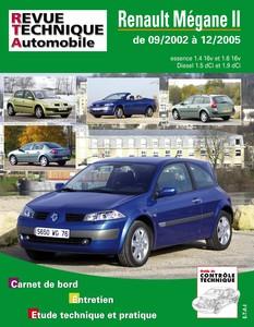 Revue Technique Renault Mégane II phase 1