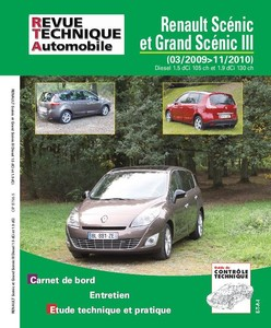 Revue Technique Renault Scénic III phase 1