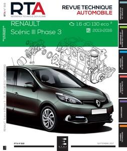 Revue Technique Renault Scénic III phase 3 dCi