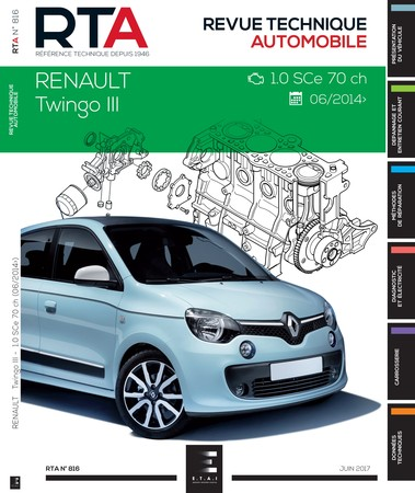 Revue Technique Renault Twingo III