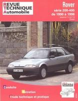 Revue Technique Rover 200 II, 400 I et 400 II