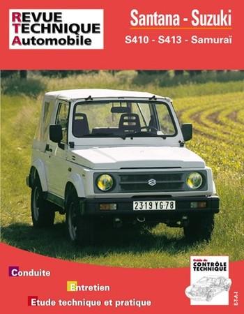 Revue Technique Santana S410 et S413 et Suzuki Samurai