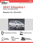 Revue Technique Seat Alhambra I essence
