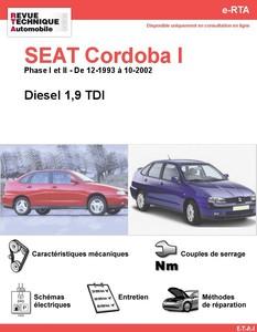 Revue Technique Seat Cordoba I diesel