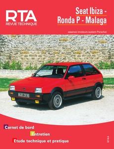 Revue Technique Seat Ibiza I, Ronda P et Malaga