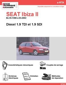 Revue Technique Seat Ibiza II diesel