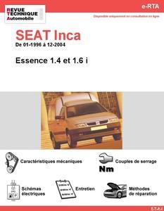 Revue Technique Seat Inca essence