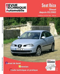 Revue Technique Seat ibiza III phase 1 diesel