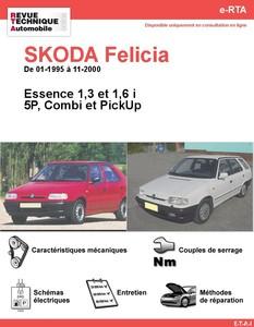 Revue Technique Skoda Felicia essence