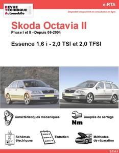Revue Technique Skoda Octavia II essence