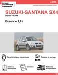 Revue Technique Suzuki SX4 essence