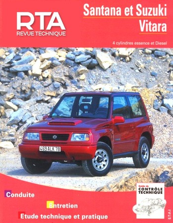 Revue Technique Suzuki Vitara I
