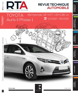 Revue Technique Toyota Auris II phase 1