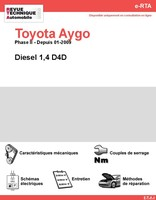 Revue Technique Toyota Aygo diesel