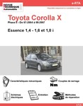 Revue Technique Toyota Corolla IX essence