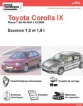 Revue Technique Toyota Corolla VIII essence