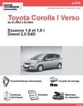 Revue Technique Toyota Corolla Verso I