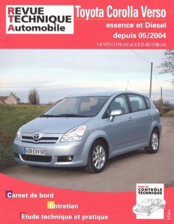 Revue Technique Toyota Corolla Verso III