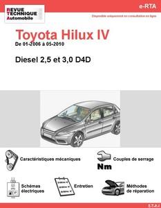 Revue Technique Toyota Hilux VII