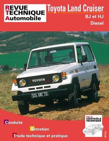 Revue Technique Toyota Land Cruiser BJ et HJ diesel