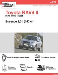 Revue Technique Toyota RAV4 II essence