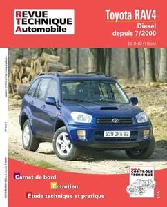 Revue Technique Toyota RAV4 II phase 1 D4D