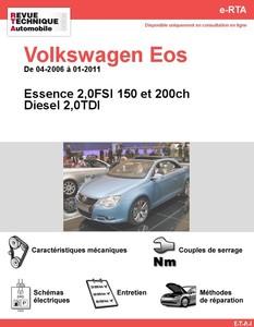 Revue Technique Volkswagen Eos