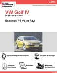 Revue Technique Volkswagen Golf IV Essence  V5 V6 et R32