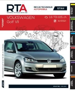 Revue Technique Volkswagen Golf VII phase 1