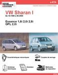 Revue Technique Volkswagen Sharan I essence