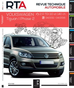 Revue Technique Volkswagen Tiguan I phase 2