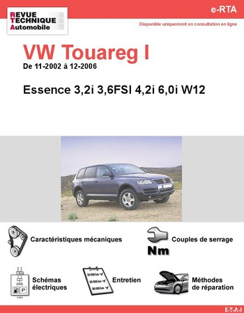 Revue Technique Volkswagen Touareg I essence