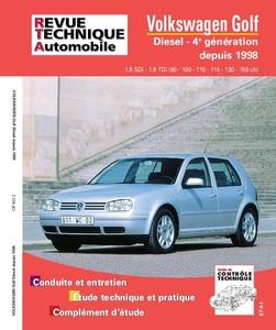 Revue Technique Volswagen Golf IV SDI-TDI