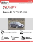 Revue Technique Volswagen Golf V essence