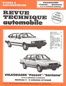 Revue Technique Volswagen Passat II (B2) et Santana