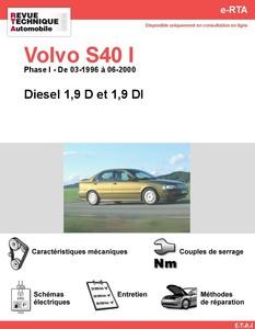Revue Technique Volvo S40 I Phase 1 diesel