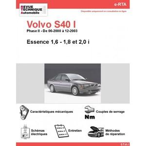 Revue Technique Volvo S40 I essence