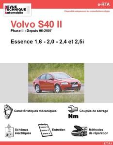 Revue Technique Volvo S40 II essence