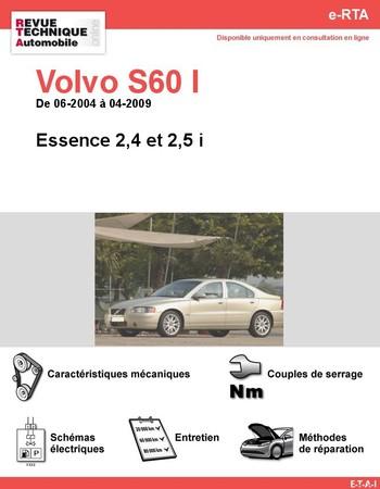 Revue Technique Volvo S60 I essence