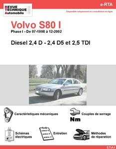Revue Technique Volvo S80 I Phase 1 diesel