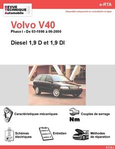 Revue Technique Volvo V40 I Phase 1 diesel