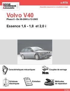 Revue Technique Volvo V40 I Phase 2 essence