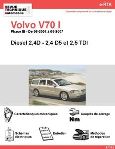 Revue Technique Volvo V70 II diesel