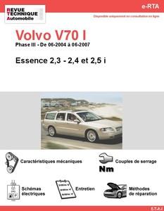 Revue Technique Volvo V70 II essence
