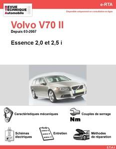 Revue Technique Volvo V70 III essence