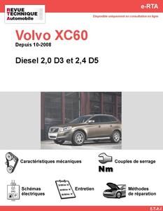 Revue Technique Volvo XC60 I diesel